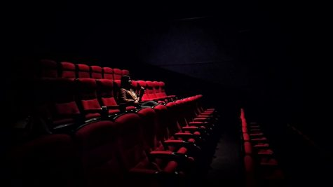 Single guest in a movie theater.